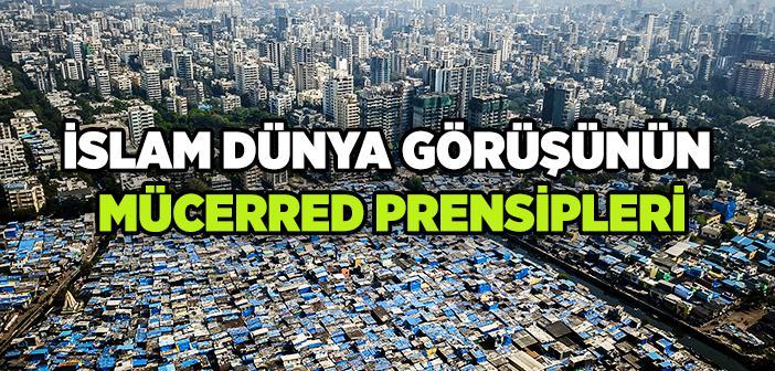 İslam Dünya Görüşünün Mücerred Prensipleri