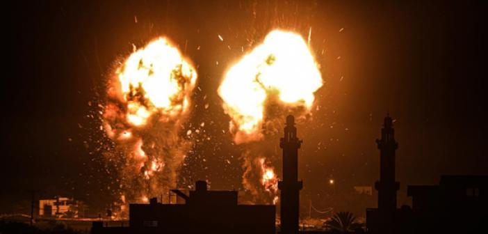 İsrail Ateşlesi Bozdu ve Gazze Şeridi'ne Hava Saldırıları Düzenledi