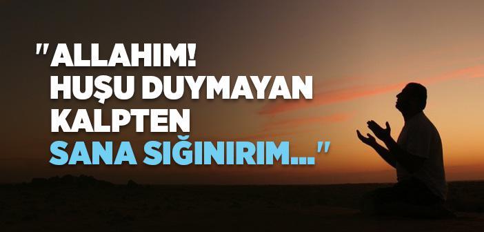"""""""Allahım! Fayda Vermeyen İlimden Sana Sığınırım..."""" Duası Arapça Türkçe Okunuşu ve Anlamı"""