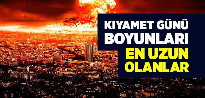 """""""Kıyamet Günü Boyunları En Uzun Olanlar"""" Hadisi"""