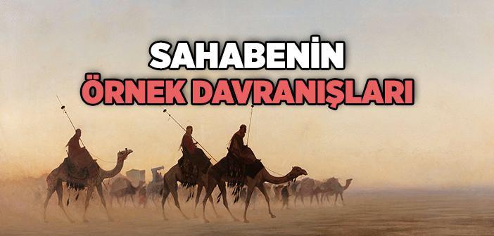 Sahabenin Örnekliği
