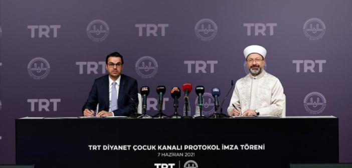 TRT - Diyanet İş Birliği İle Çocuk Kanalı Kurulacak