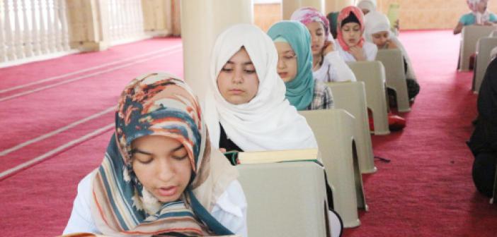 Yaz Kur'an Kursları Tüm Camilerde Başladı