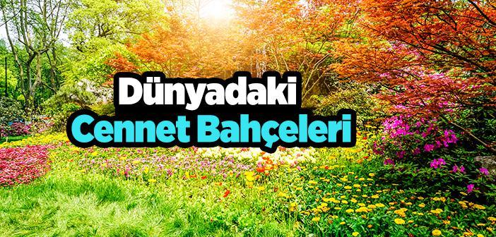 Dünyadaki Cennet Bahçeleri