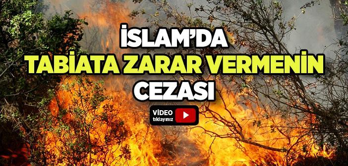 İslam'da Tabiata Zarar Vermenin Bir Cezası Var mıdır?