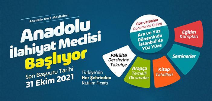 Anadolu İlahiyat Meclisi Başvuruları Devam Ediyor