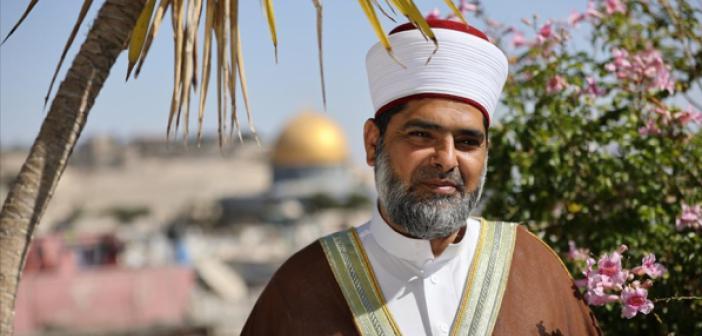 Mescid-i Aksa Vakfı Müdürü Şeyh Ömer El-Kisvani 'Din Savaşı' Uyarısı Yaptı